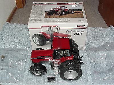 Ertl Tomy 1/16 Case Ih International 7140 Fwa Se Ttt Magnum Demo Chase Tractor