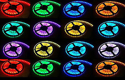 300 Led Strip Lighting 12V 5m Different Colors Decoration Fairy Party UK Stock