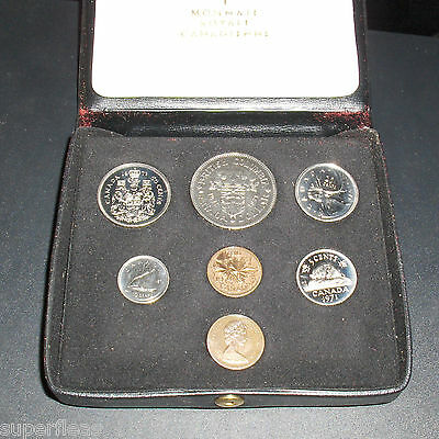 1971 Royal Canadian Mint • Double Penny • Specimen Coin Set • Uncirculated