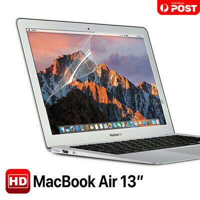 "For Macbook Air 13.3"" 13"" A1369 A1466 Clear LCD Screen Protector Guard Cover"