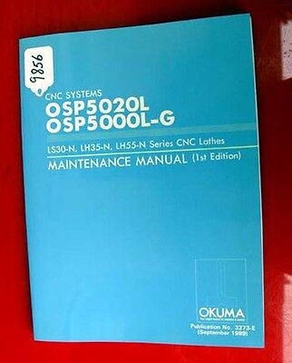 Okuma CNC Systems Maintenance Manual 3273-E (Inv.9856)