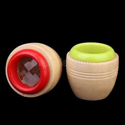 Random Round Wooden Prism Kaleidoscope Educational Funny Interesting Toy for Kid