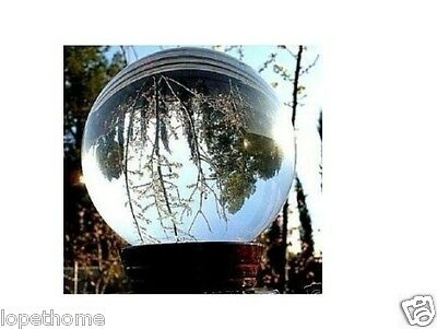 HOT SELL~ASIAN QUARTZ Clear Crystal Ball Sphere 80mm +stand