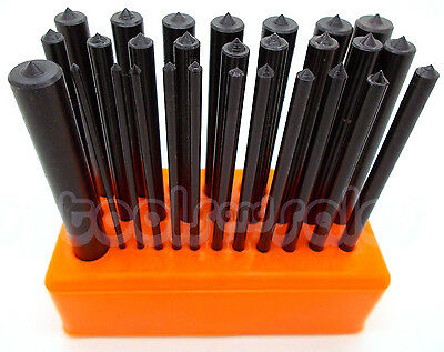 28-pc. CENTER PUNCH Set Steel Transfer Punch Machinist Thread Tool Kit Set NEW