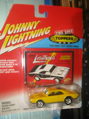 CUSTOM CHARGER THE LOST TOPPERS JOHNNY LIGHTNING JL 1/64 EE Q