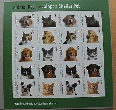 #4451-60 Animal Rescue Sheet of 20