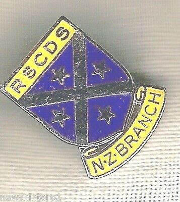 Dance Badge - Royal Scottish Country Dance Society, New Zealand