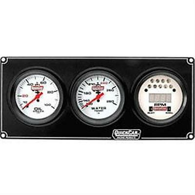 QuickCar Extreme 2-1 Gauge Panel, Oil Pressure, Water Temp with Tach