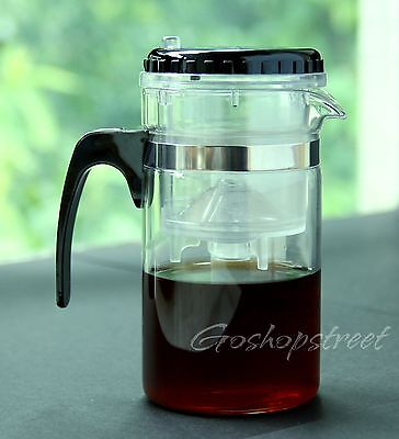 200ml Kamjove Glass Gongfu Maker Press Art Tea Cup Pot Teapot Infuser TP-120