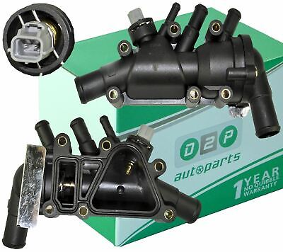 For Ford KA 1.3 Duratec (2003-2008) Thermostat + Housing + Switch XS6E8A586AG