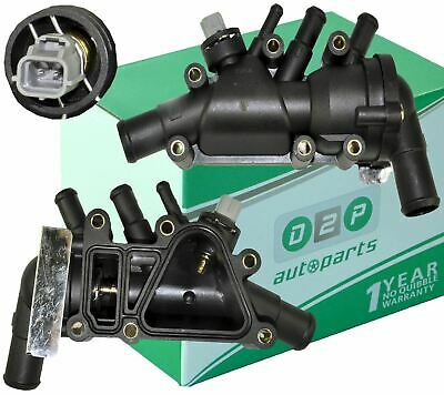 Thermostat with Housing Switch /& Temperature Sensor for Ford KA 1.3 1.6 Duratec