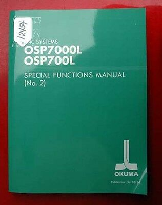 Okuma CNC Systems Special Functions Manual (No. 2): 3816-E (Inv.12454)