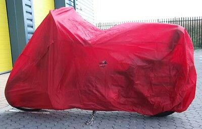 190T Terylene Water Resistant Cloth Motorbike Cover 4 Cruiser/Sports-4053-Red