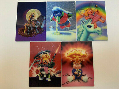 2011 USA Garbage Pail Kids FLASHBACK 2 COMPLETE 3D Set - FB
