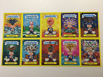 2011 USA Garbage Pail Kids FLASHBACK 2 COMPLETE Adam Mania Set - FB