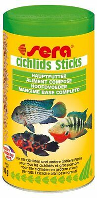 Mangime In Sticks Per Ciclidi Sera Cichlids Sticks In Formato Da 500 Ml/90 Gr