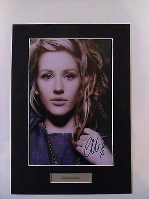 Ellie Goulding signed autograph photo