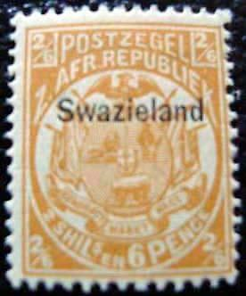 SWAZILAND - timbre - yvert et tellier n°7 n* - stamp swaziland