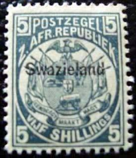 SWAZILAND - timbre - yvert et tellier n°8 n* - stamp swaziland