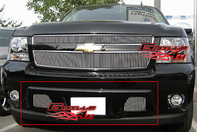 Fits 07-2014 Chevy Tahoe/Suburban/Avalanche Bumper Vertical Billet Grille Grill