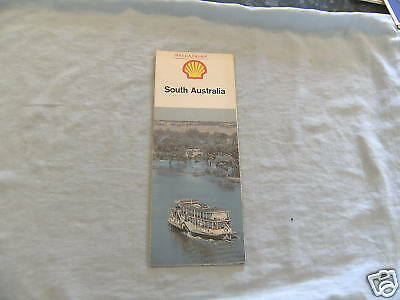 #D3. EARLY 1970s  SHELL MAP OF SOUTH AUSTRALIA