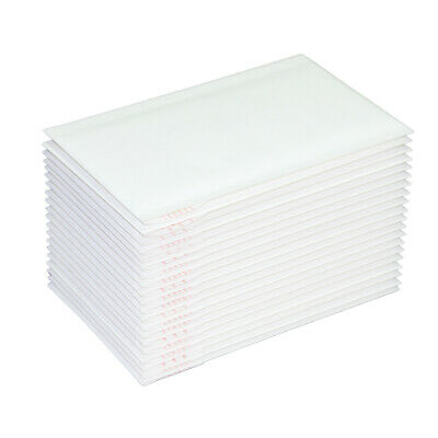 200x Bubble Envelope #0 100x180mm - Plain BLANK - #00 White Padded Bag Mailer