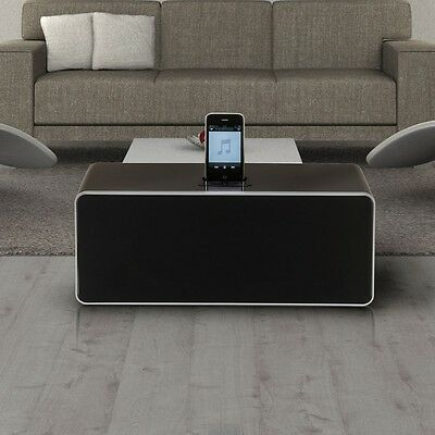 Hifi Docking Station iPod iPhone Smartphone MP3 Fernbedienung Stereo Anlage AUX