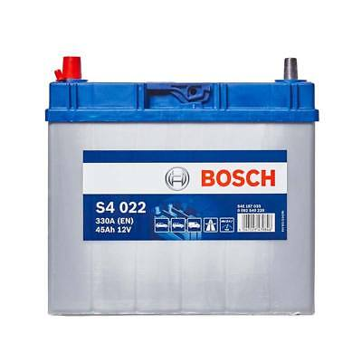 Bosch Car Battery 12V 45Ah Type 155 330CCA 4 Years Wty Sealed OEM Replacement