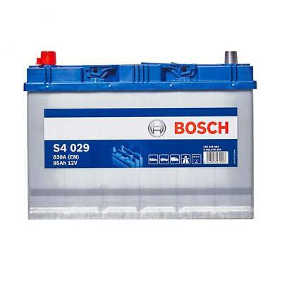 Bosch Car Battery 12V 95Ah Type 334 830CCA 4 Years Wty Sealed OEM Replacement