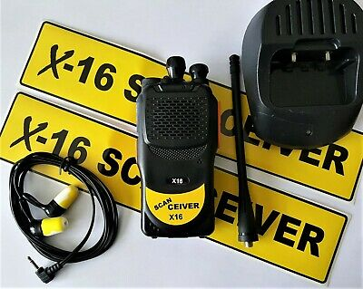 ScanCeiver X16 Race Scanner