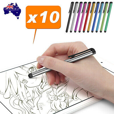 10x Universal Compactive Touch Screen Pen Stylus for Apple iPhone iPad Samsung