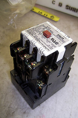 Fuji Electric Contactor Type Sc-1N/seul 24 Vdc Coil 600 Vac 10 Hp 3 Phase