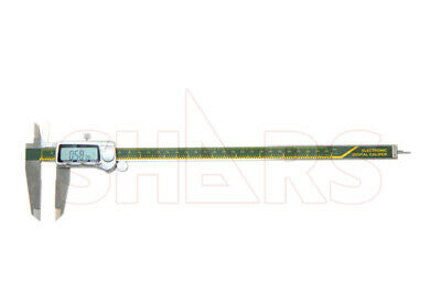 "SHARS 12"" 300mm Electronic Digital Caliper Stainless .0005"" FRACTION 1/128  New"