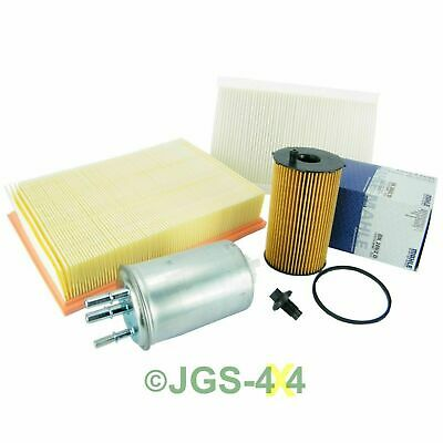 Land Rover Discovery 3 2.7 TDV6 Engine Service Filter Kit Oil Air Fuel Filters