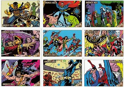 Marvel Bronze Age (1970 - 1985) 2012 Rittenhouse Parallel Card Set Of 81