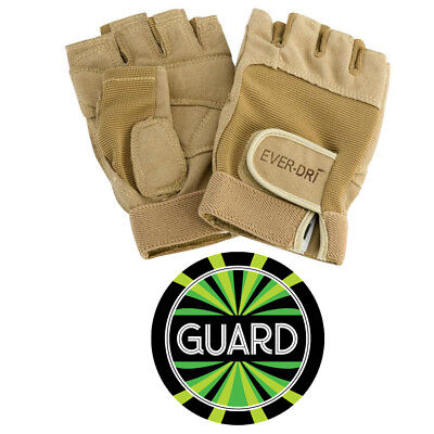 Director's Showcase Ever-Dri Color Guard Gloves with free decal (black or tan)