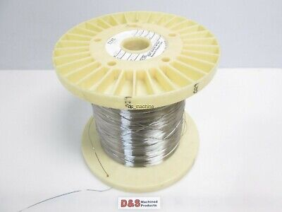 """Fort Wayne Metals 304V Stainless Steel Wire 0.029"""" Diameter Approx. 3800FT"""