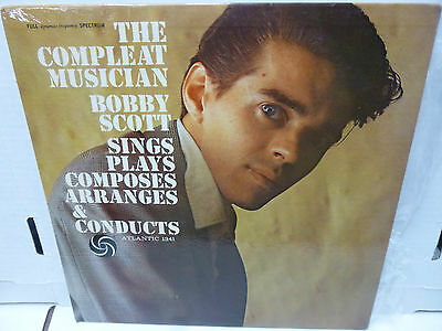 33RPM Vinyl Record Bobby Scott the Compleat Musician Sings Composes Plays At1341