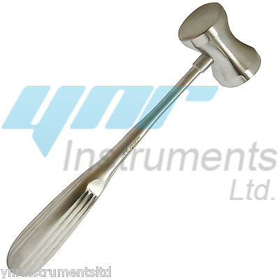 YNR Bone Mallet Round Cut Handle Steel Orthopedic Surgical Instruments CeMark