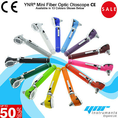 YNR Otoscope Mini Fiber Optic Medical Diagnostic Examination NHS CE approved NEW