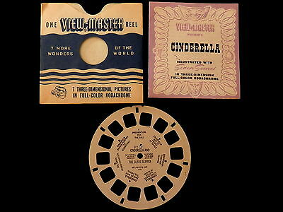 View-Master #FT-5 Cinderella and The Glass Slipper 1946