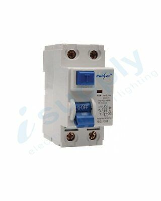 (RCBO) 2 pole 16 Amp 4.5ka 240vCircuit Breaker Safety Switch Combination