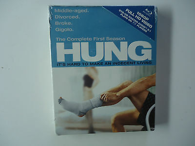 Hung: The Complete First Season (Blu-ray Disc, 2010, 2-Disc Set) NEW