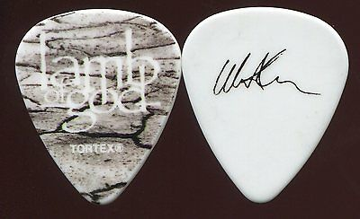 LAMB OF GOD 2012 Resolution Tour Guitar Pick!! WILLIE ADLER custom concert stage