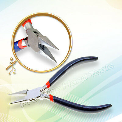 """Chain nose pliers Snipe Nose Jewelry making hobby craft tools spring Prestige 5"""""""