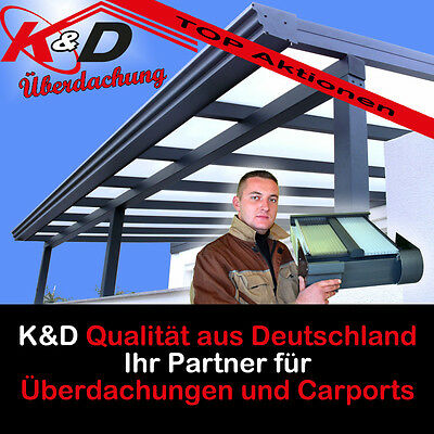 terrassen berdachung berdachung carport alu 6 x 3 5 m poly i inkl montage. Black Bedroom Furniture Sets. Home Design Ideas