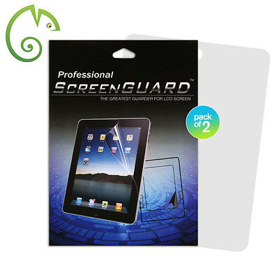 Ultra Clear Film LCD 2 Pack Screen Protector for iPad 4 3 2. Free Cloth Delivery