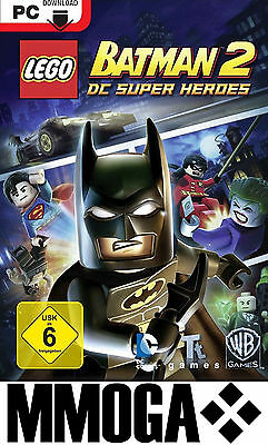 LEGO Batman 2: DC Super Heroes Download Key - [STEAM] [NEU] [DE] [PC]