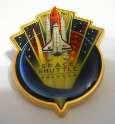 Original End Of The Space Shuttle Program Pin 1981-2011 Official NASA Edition