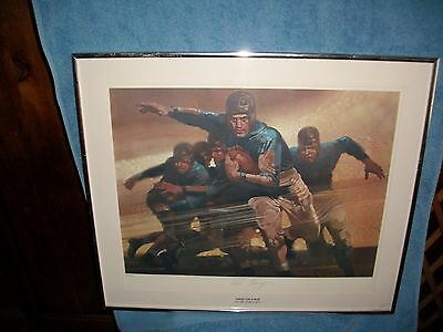 Red Grange Sports Illustrated Signed Lithograph